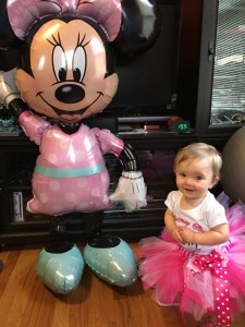 Minnie Mouse First Birthday