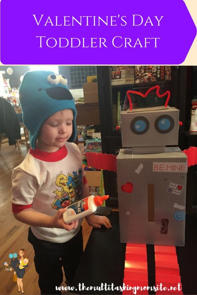 valentine's day toddler craft