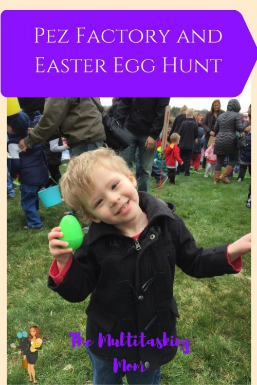 pez factory easter egg hunt