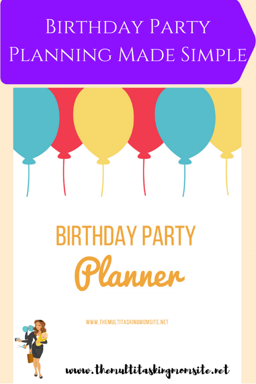 Tyler's first big boy birthday party is coming up.  He is in preschool this year, so he actually has friends his own age to invite to his party and play games with. In order to make sure this event goes off without a hitch, I created my own party planner.  Let me walk you through it!