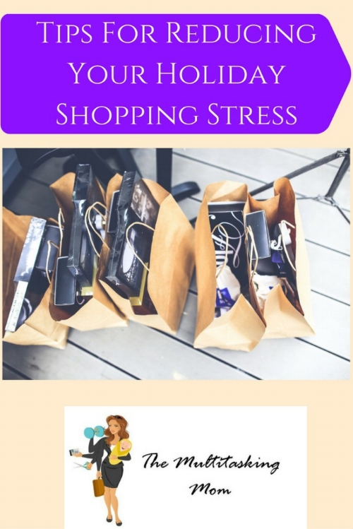 holiday shopping stress