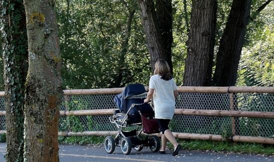 Playground stroller workout