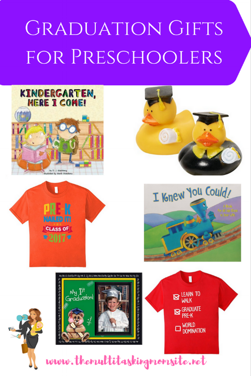 It's that time of year where everyone is graduating. There's preschool graduations, kindergarten graduations, middle school, high school, and college. Some are more meaningful than others, but all are important for the person doing the graduating. Here are some perfect gifts for kids graduating preschool.