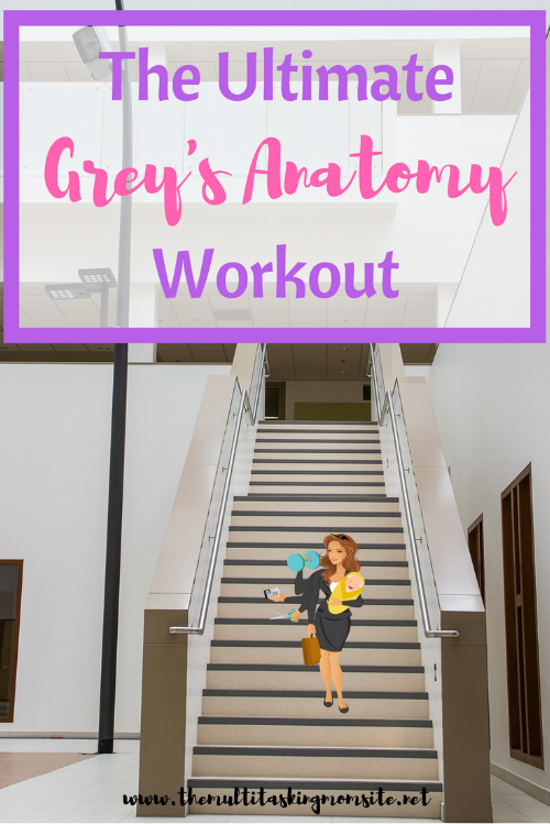 Do you still watch  Grey's Anatomy? I do. You know how people create drinking games to go with their favorite TV shows.  Well I took that inspiration in a slightly different direction. Hence, the Ultimate Grey's Anatomy Workout.
