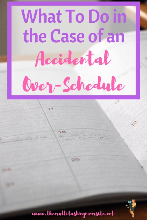 Have you ever accidentally over scheduled yourself and then not know what to do? This happened to me last month with Hailey's swim class. Check out the steps we took to resolve the problem.