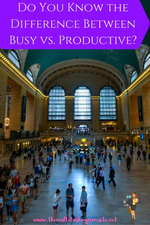 Find out the difference between being busy and being productive and discover why being productive is so much more valuable.