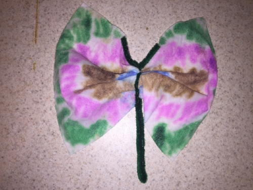 butterfly preschool craft