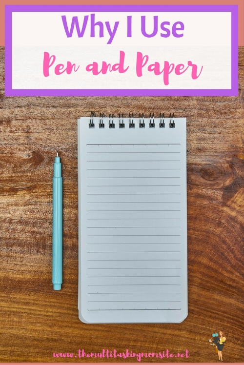 There are certain things which are better off being done the old fashioned way. When creating my to do list or planning out my day or week, pen and paper wins. It also wins for things like brainstorming or taking notes. Here's why:
