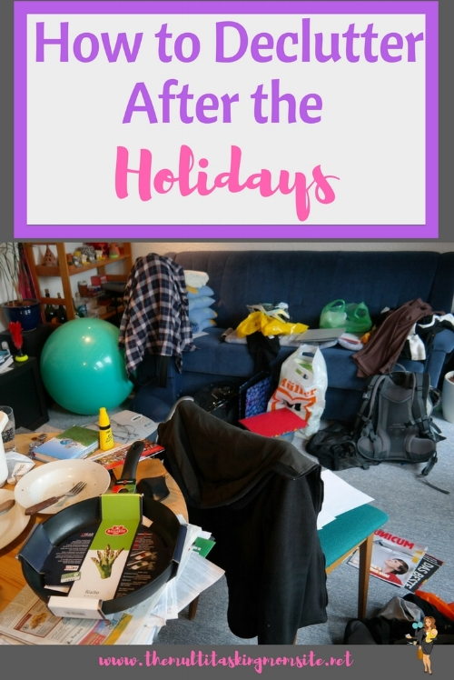 Now that the holidays are over, we are stuck in our homes, and we have a lot less to do.  It is the perfect time to declutter our homes.