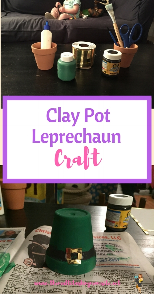 Check out this cute and simple Leprechaun Hat Craft.  The perfect addition to your St Patrick's Day decor.