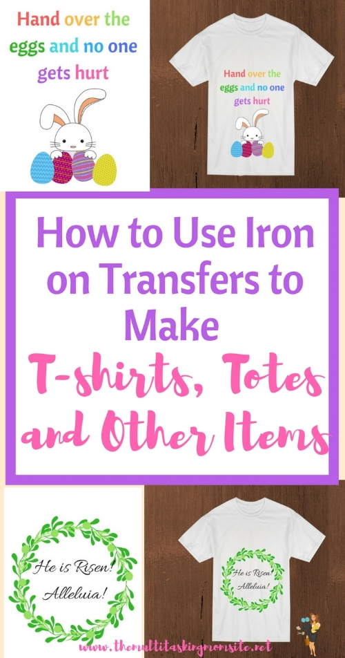 Whether you're making custom shirts for your kid's sports team, or creating the perfect gift for your best friend, iron on transfers provide an cheap and easy way to apply images to fabric.