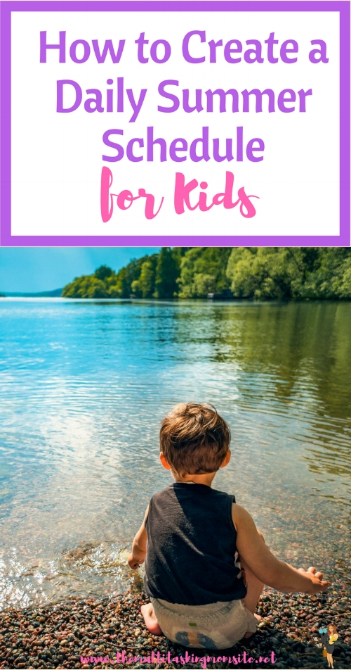 Check out these ideas to create a daily schedule for your kids this summer to keep them entertained, develop skills, and have fun!