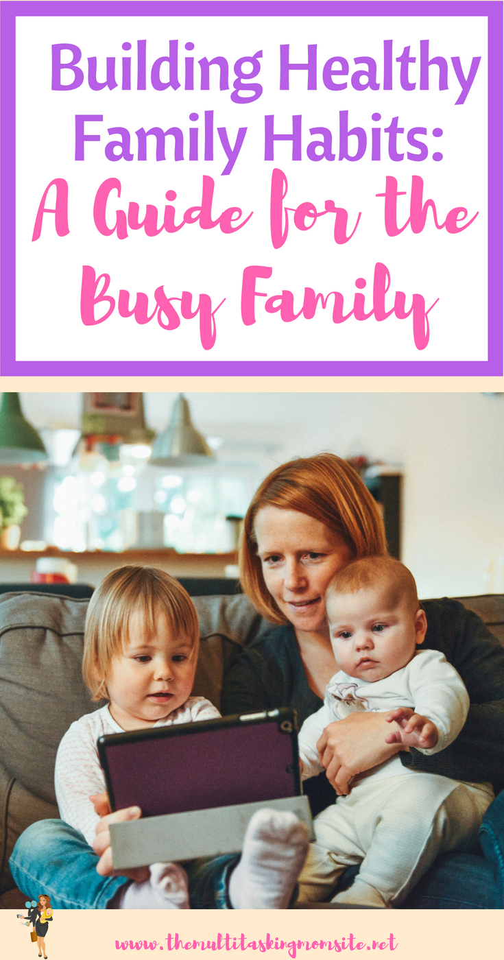 Tips for encouraging quality time and healthy eating even as a busy mom.