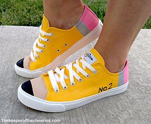 pencil shoes from thekeeperofthecheerios.com