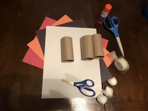 Santa craft materials