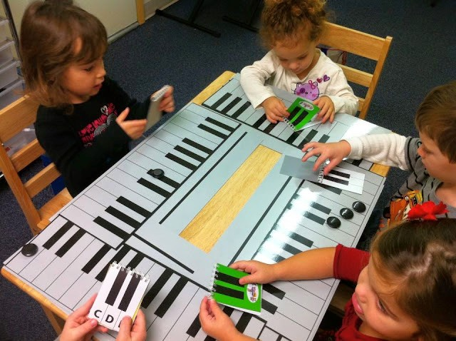 Music Initiation Class Piano Games