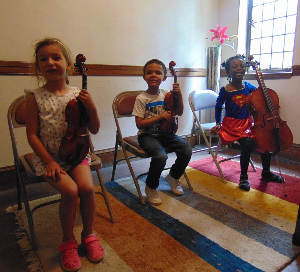 Early Elementary String Trio