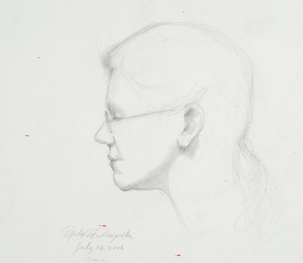 Martin M. Pieczonka, Study of Kathryn, graphite.jpeg