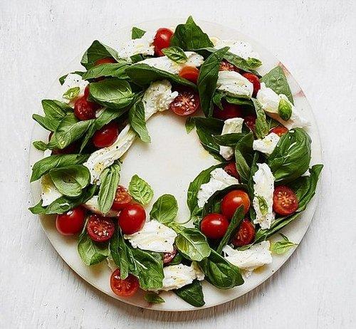 Party Ideas 10 Christmas Food Wreaths