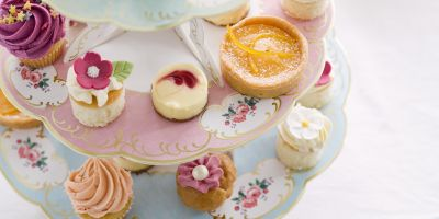 afternoon tea at home -