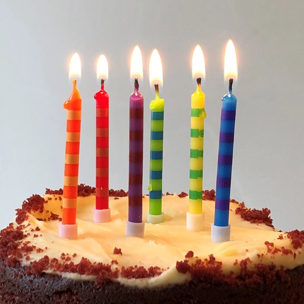 Brilliant Cake Candles Tall Birthday Cake Candles Personalised Birthday Cards Paralily Jamesorg