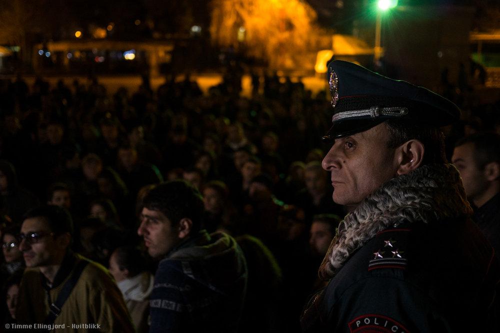 Valeri Osipyan - Deputy Head of the Yerevan City Department of the Police