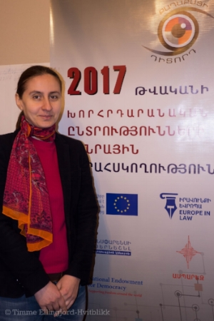 Lousineh Hakobyan fra ELA