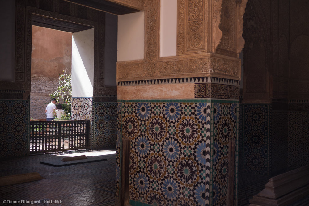Old arcitecture in Marrakech