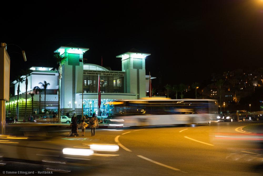 Trainstation in Tangir