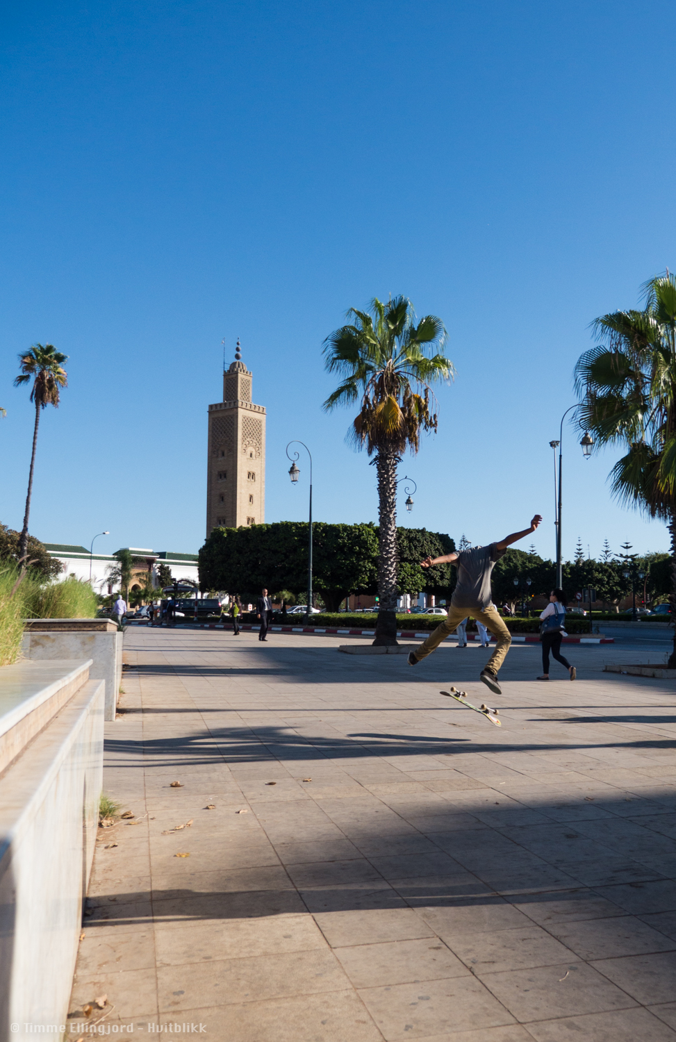 Contrasts from the urban modernity and the old school Medina could be huge in Rabat