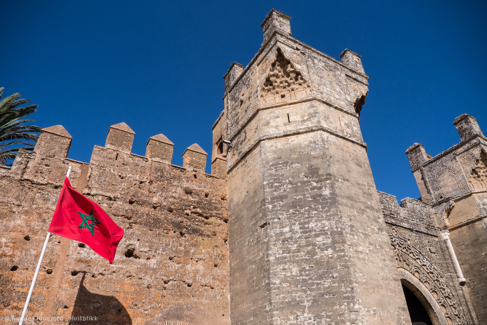 Old fortress in Rabat, going back as far as Roman time.