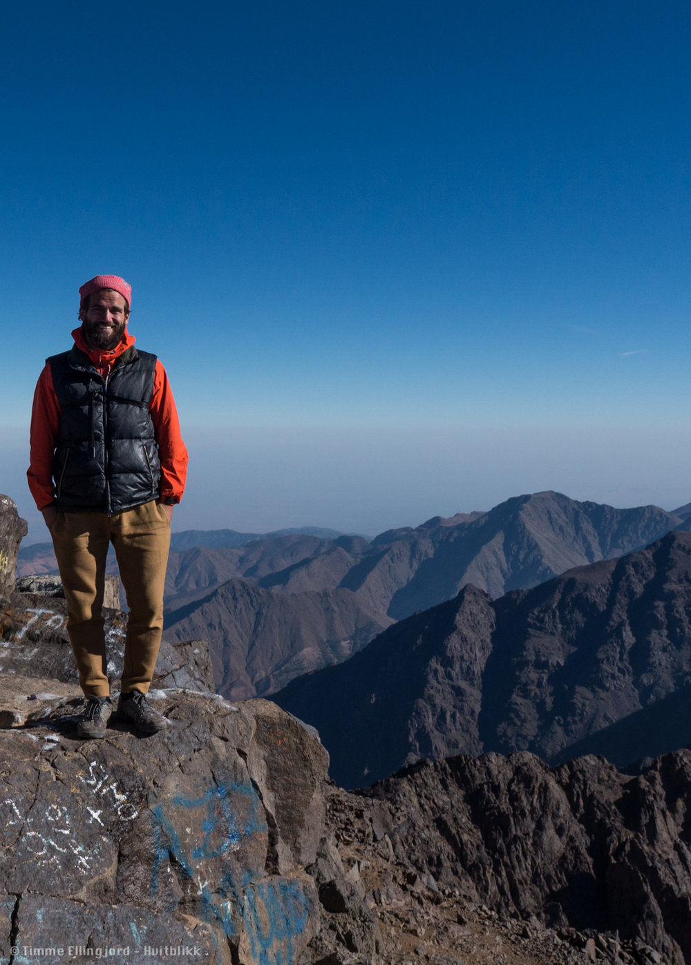 myself at the top of North Africa. dont pay to much attention to the gratify