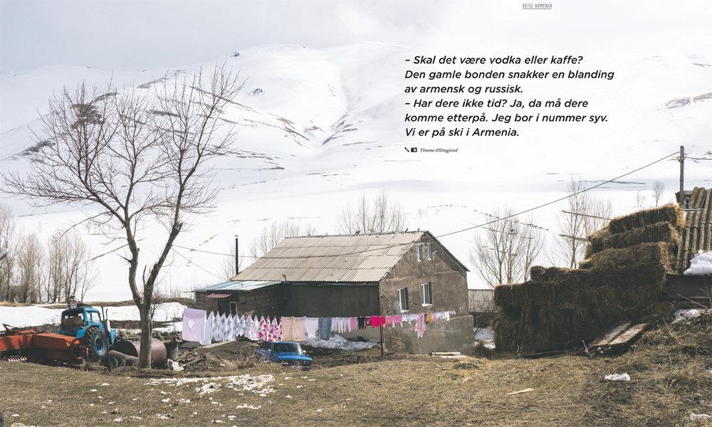 Armenia -  Gjestfrihetens land.  Fri Flyt number 130.