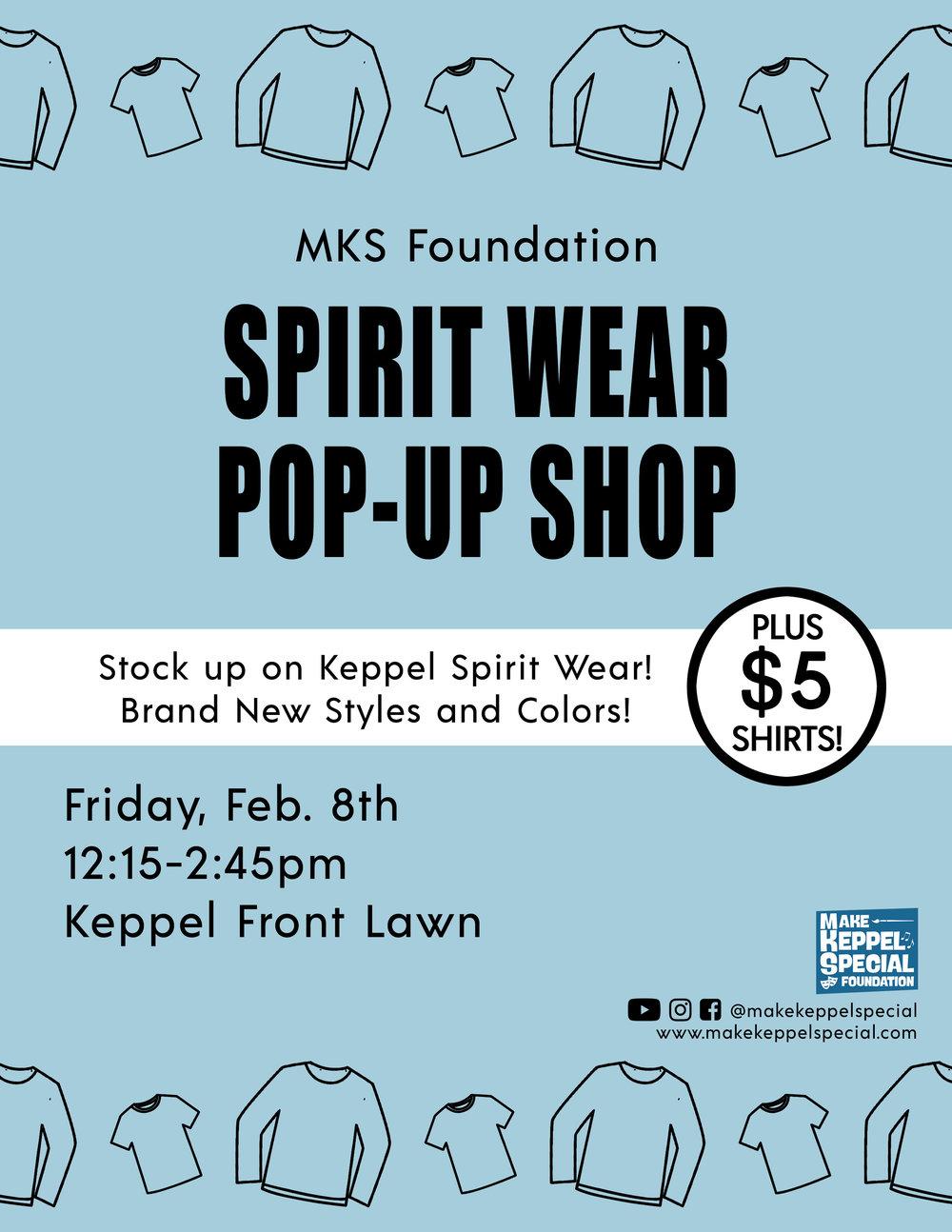 2018 Spirit Wear Pop Up Shop Sale.jpg