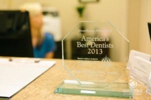 Dr. Silvermans Dentist Office award