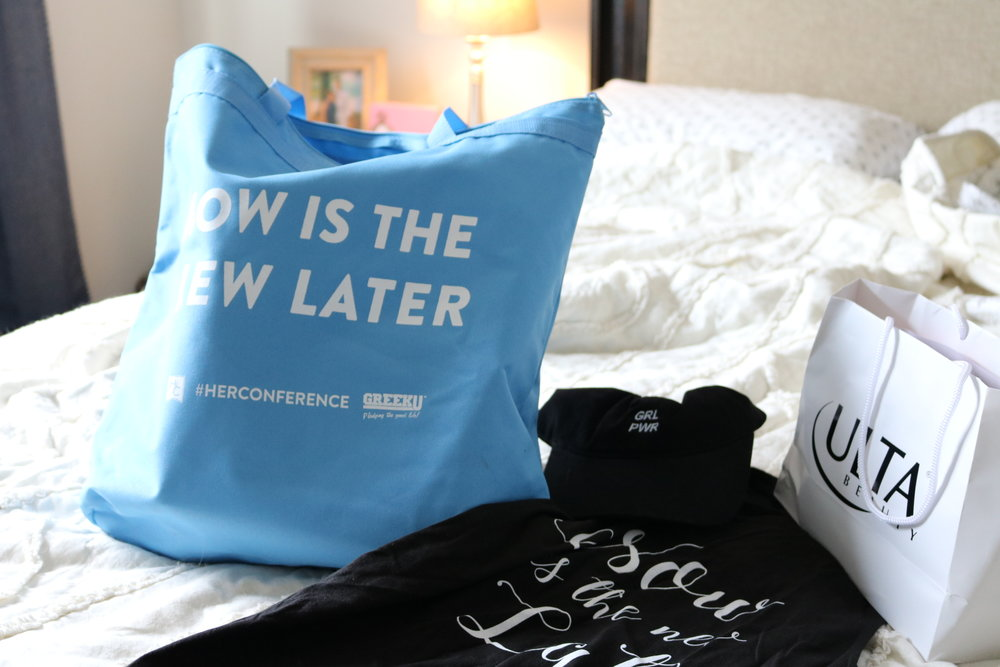 herconference 2017 swag bag