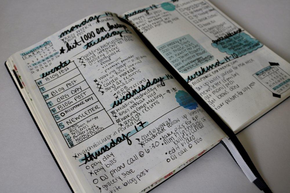 bullet journal inspiration, easy bullet journal ideas, bullet journal ideas, bullet journal, how to start a bullet journal