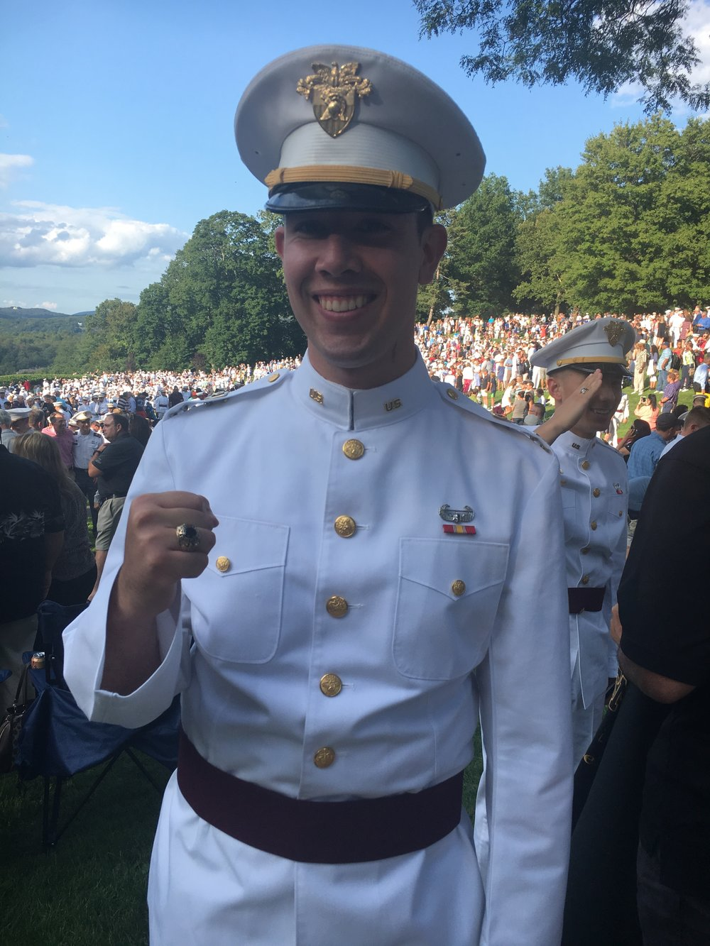 usma class of 2018 ring weekend