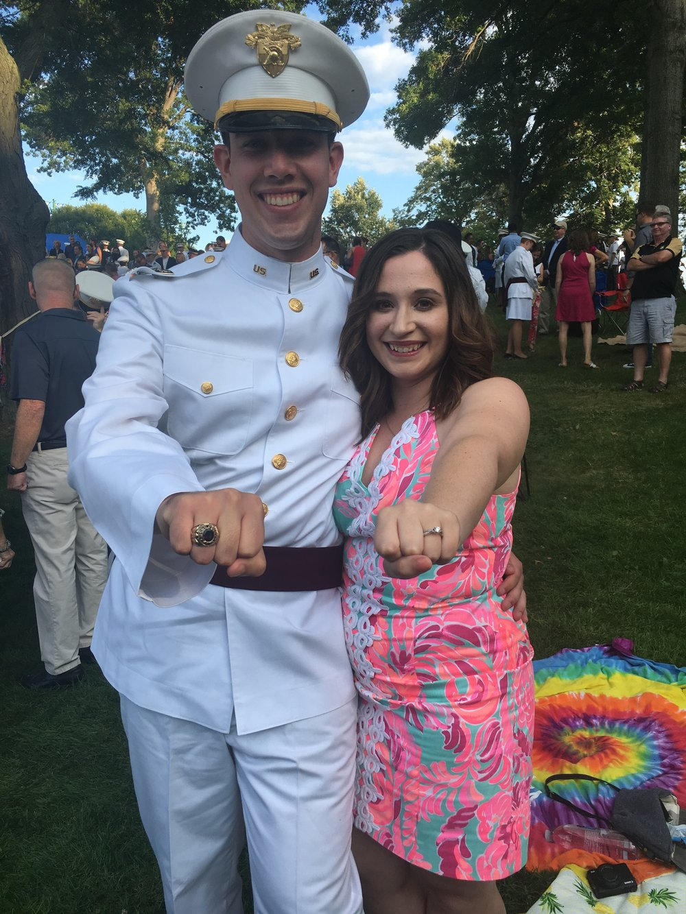 lilly pulitzer outfit ideas, ring weekned outfit ideas, what to wear to a military ceremony