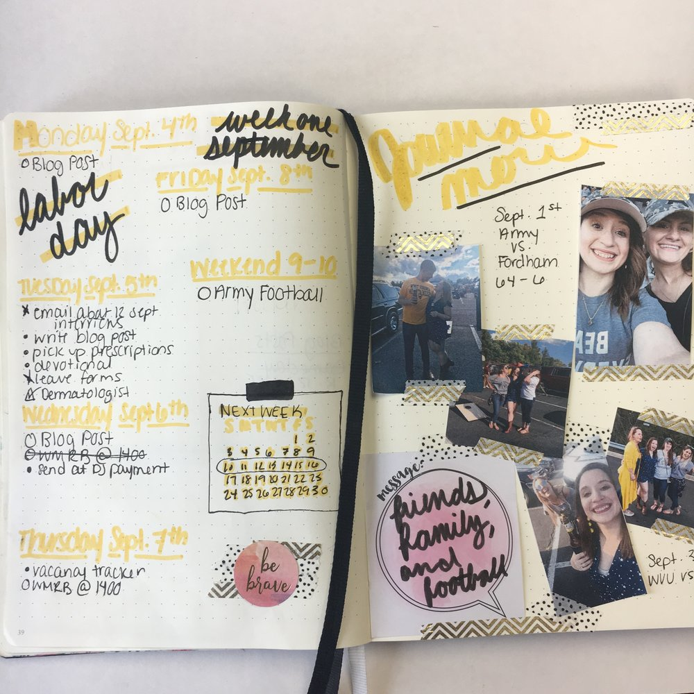 bullet journal weekly spread, journaling ideas, bullet journal ideas, bujo journaling ideas, bujo weekly spread ideas