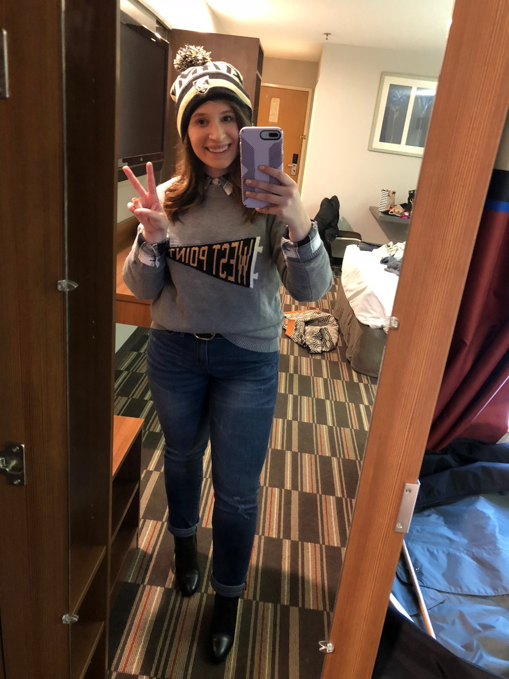 west point football outfit, army football outfit, what to wear to an army game, army football, army navy football, what to wear to army navy, army navy football game outfit