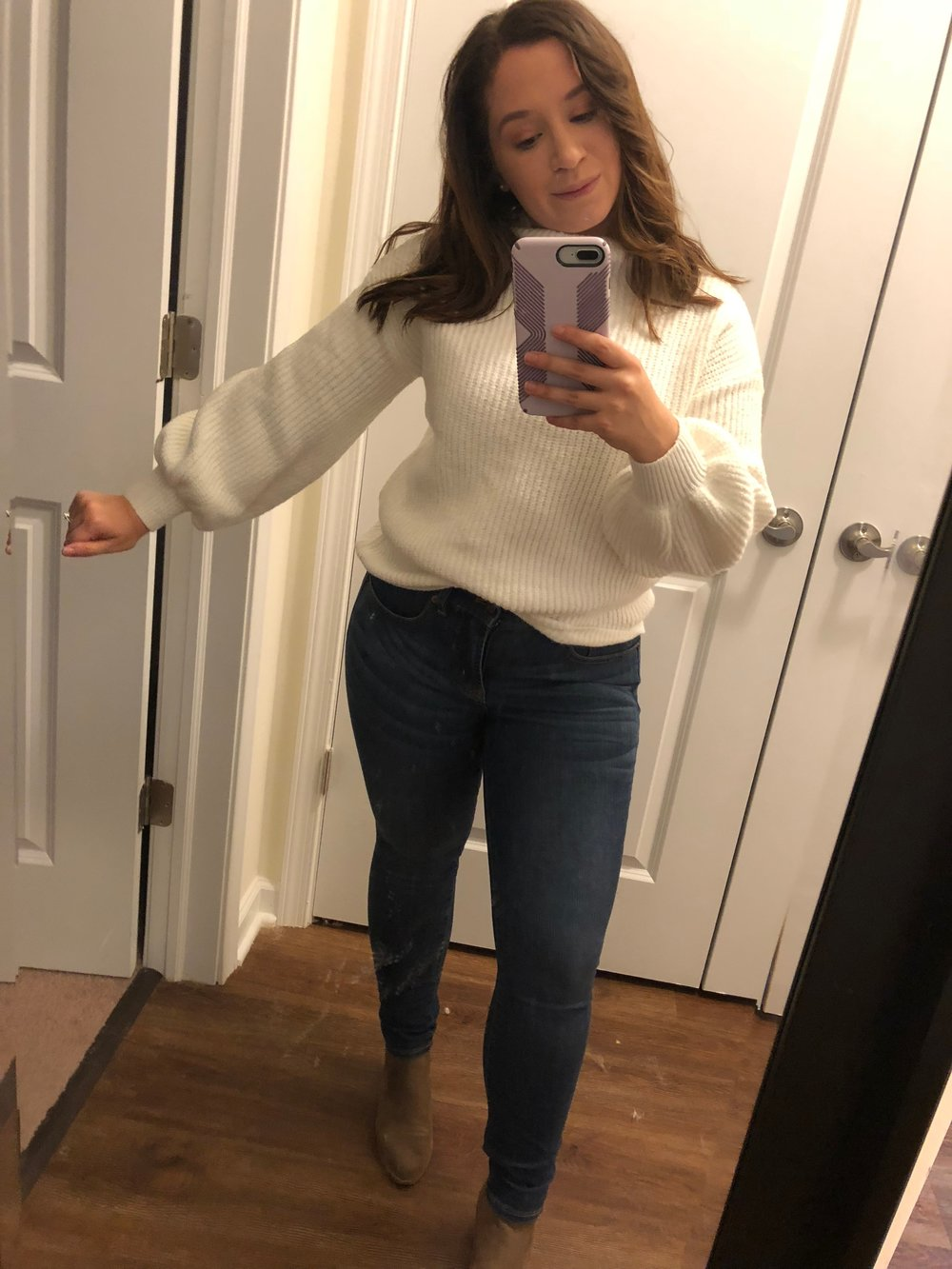 Target Bishop Sleeve Sweater