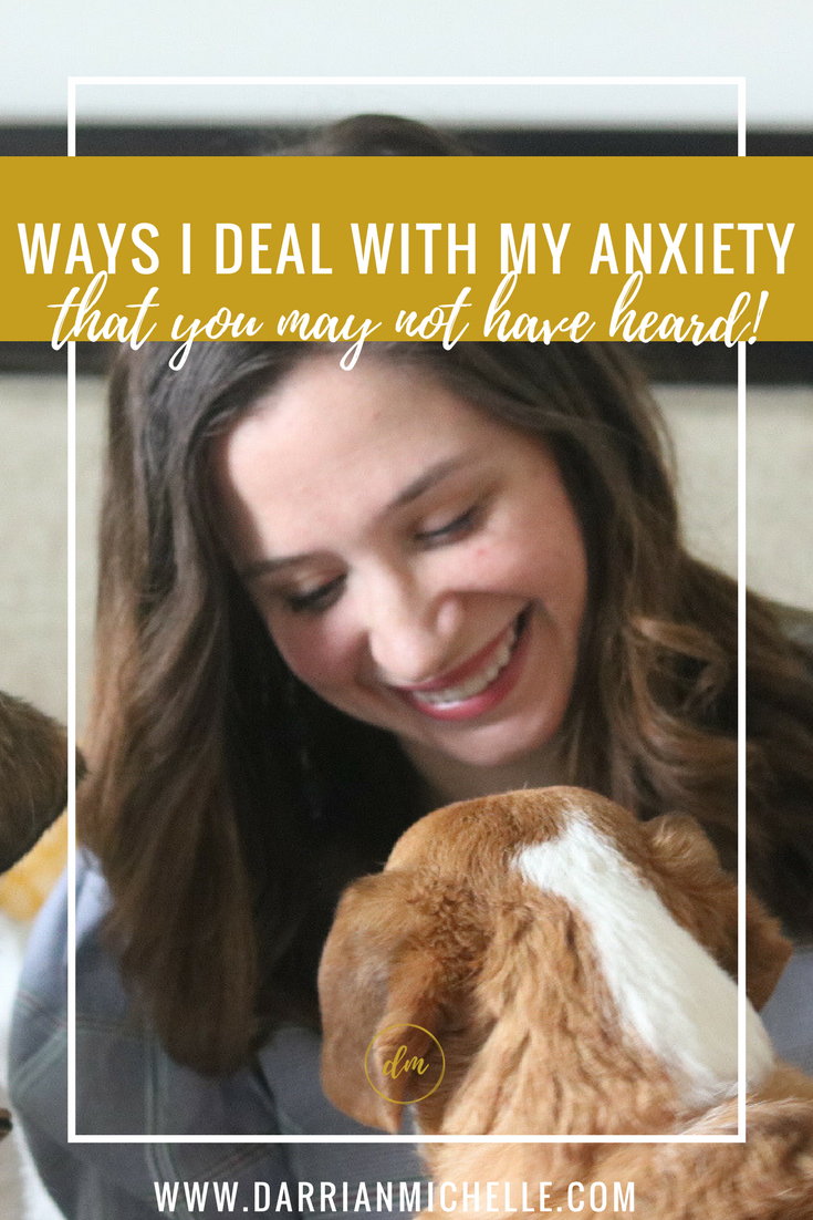 5 ways I deal with my anxiety that you may not have heard before