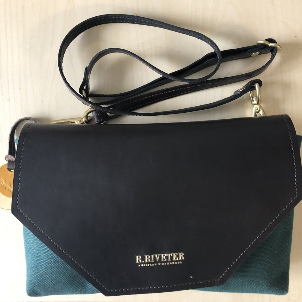 what's in my handbag r. riveter patton darrian michelle