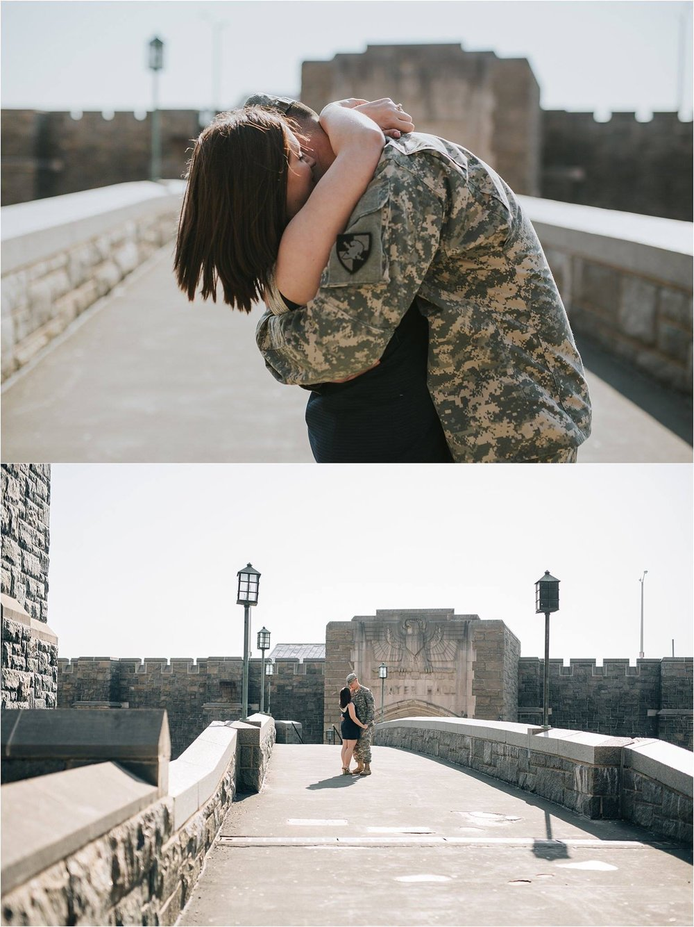 What to Wear for Engagement Photos - Engagement Photo Outfit Ideas - West Point Engagement Photos