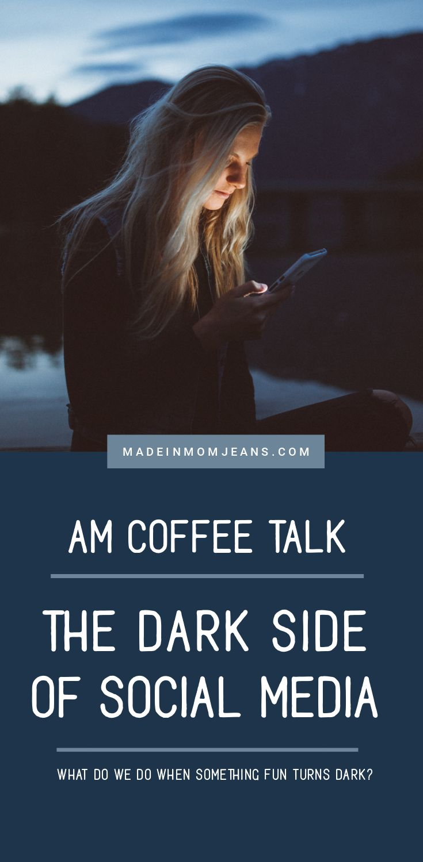 AM Coffee Talk #33 - The Dark Side of Social Media