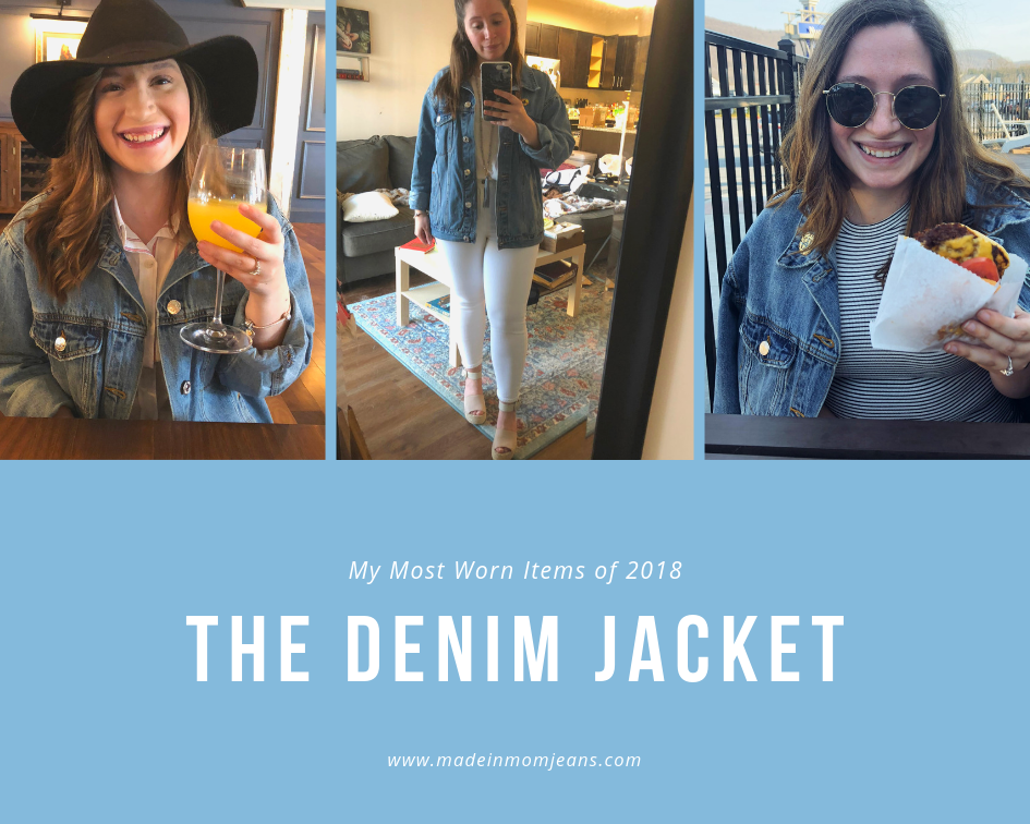My Most Worn Items of 2018 | Made in Mom Jeans