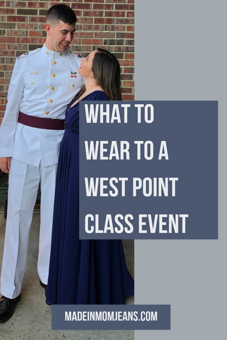 What to Wear to a West Point Class Event