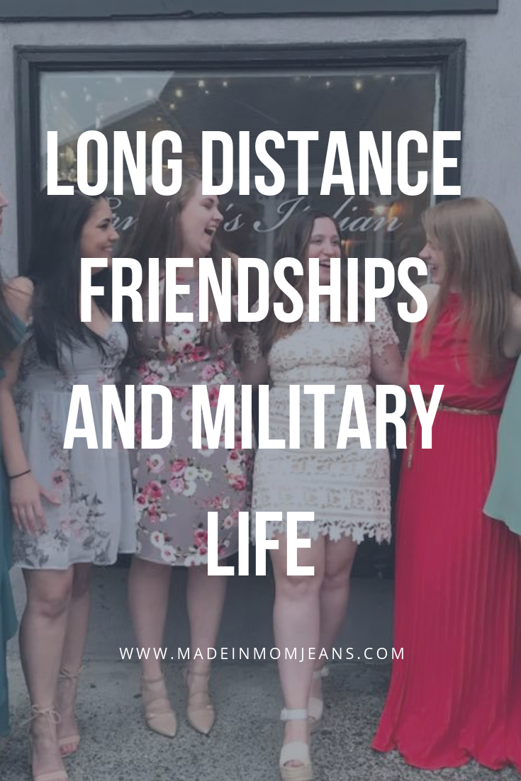 How My Long Distance Friendships Have Prepared Me for Military Life
