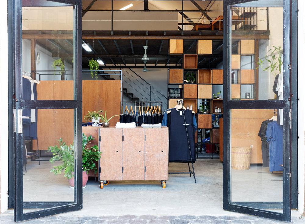 Dorsu's storefront in Kampot.